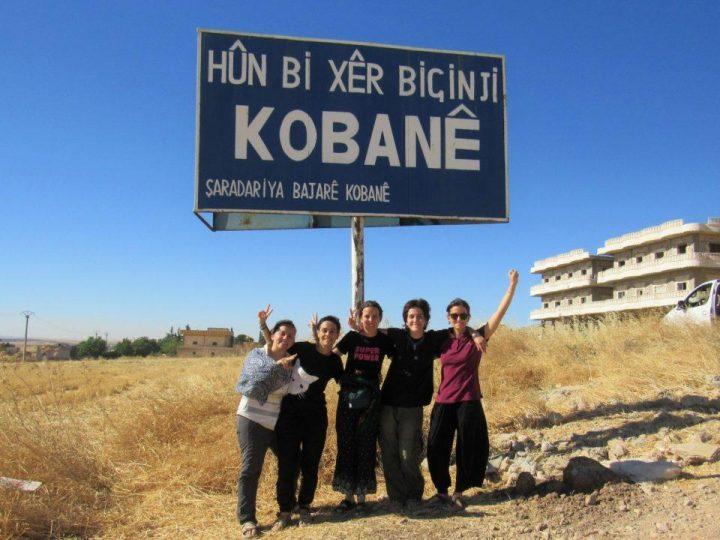 Rojava: fires against crops