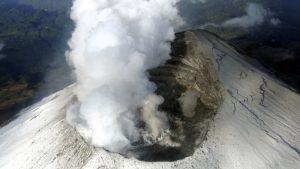 VIDEO: Así se ve el nuevo domo formado en el cráter del volcán Popocatépetl