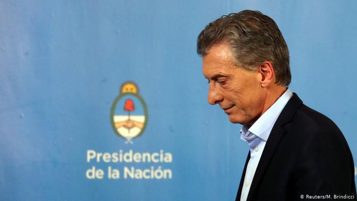Mercado reage mal à derrota de Macri na Argentina