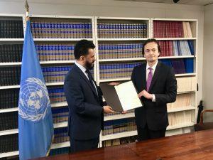 El tratado de prohibición de armas nucleares de la ONU ahora a medio camino de la entrada en vigor