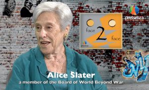 Face 2 Face with Alice Slater