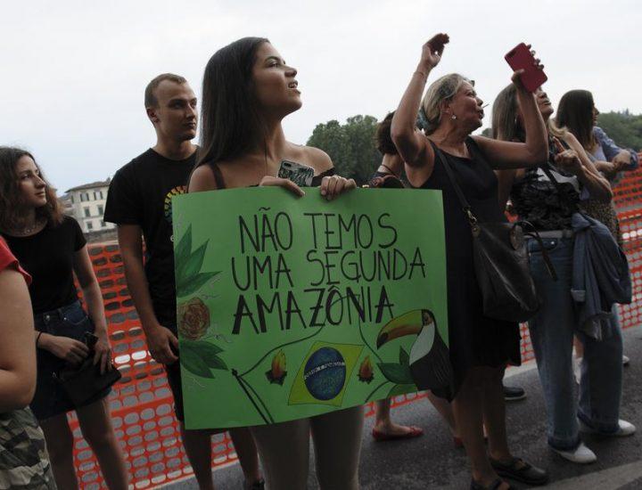 En Florencia, la defensa del Amazonas por parte de Fridays for Future