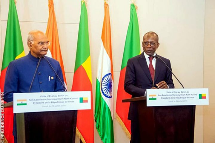 Afrique de l'Ouest : le président indien entame une tournée historique pour renforcer la présence de son pays