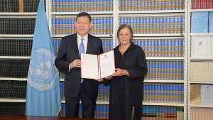 Kazakhstan, the newest state party to the Treaty on the Prohibition of Nuclear Weapons