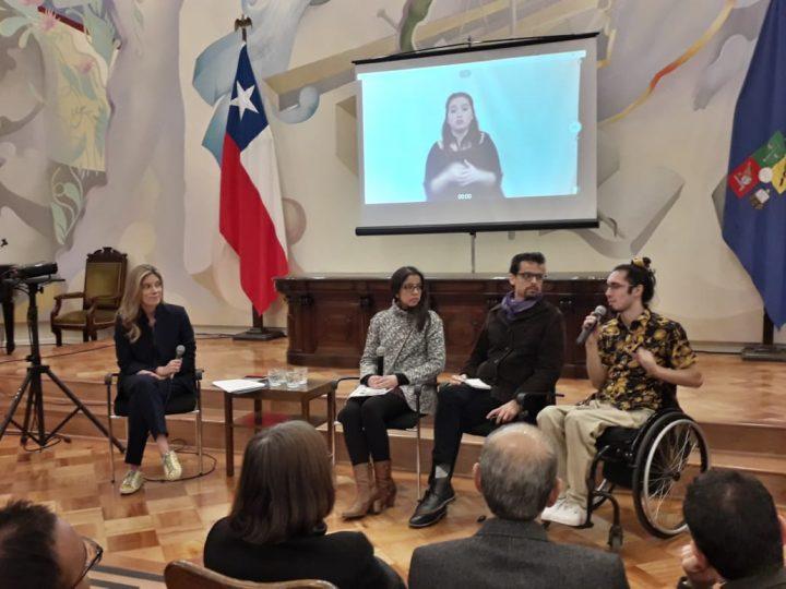 Chile: Lanzamiento de Política de Inclusión y Discapacidad de la Universidad de Chile, en las Jornadas de Inclusividad Urbana