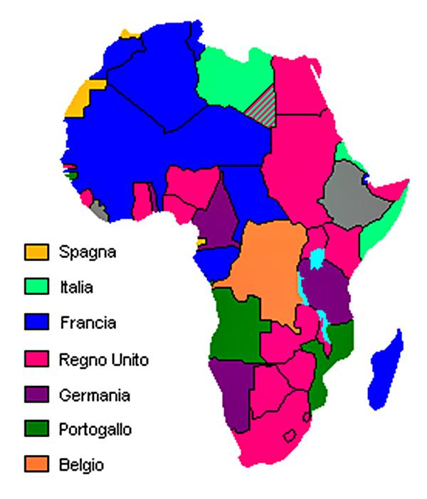 Presenza potenze occidentali in Africa