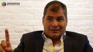 Équateur : Ordre de détention contre l'ancien président Rafael Correa