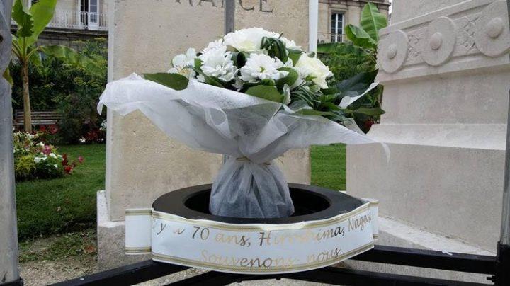 Du 6 au 9 août, Saintes commémore les bombardements d'Hiroshima et de Nagasaki