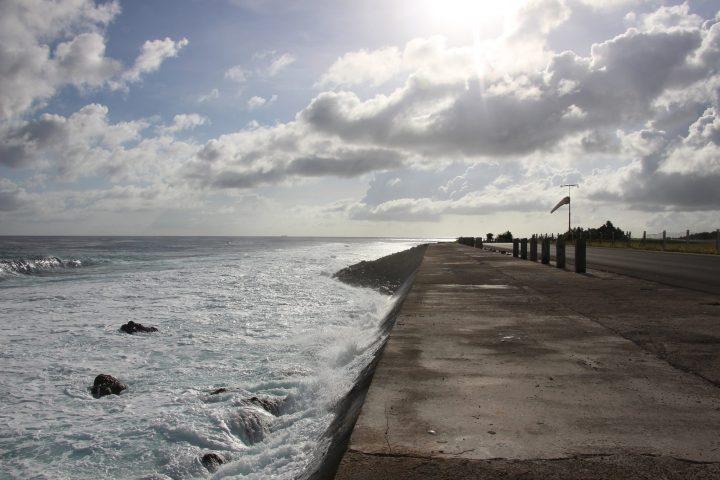 ¡El aumento del nivel del mar!