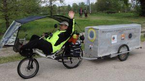 Tour de France à vélo pour la Paix
