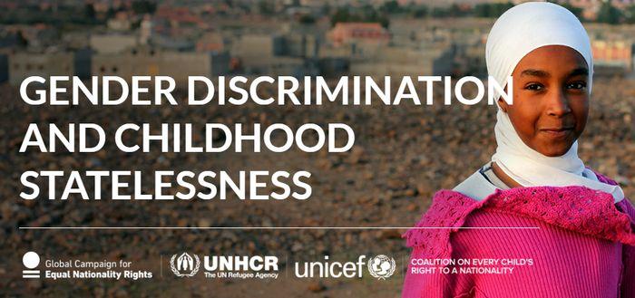 Necessarie azioni urgenti per garantire parità di genere nelle leggi di cittadinanza e porre fine all'apolidia infantile