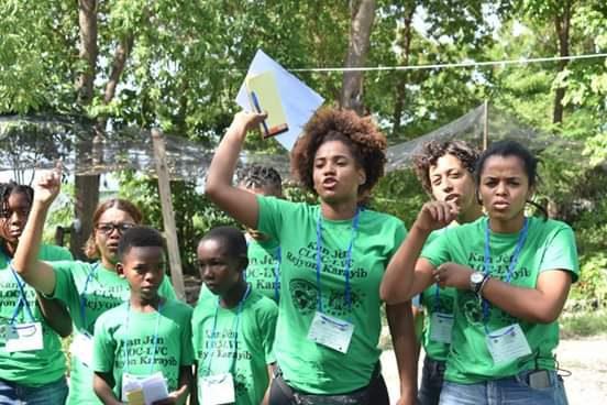 Via Campesina / CLOC realizó primer campamento juvenil en territorio haitiano