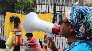 Asamblea de mujeres luchadoras de Honduras ¡movilizadas!