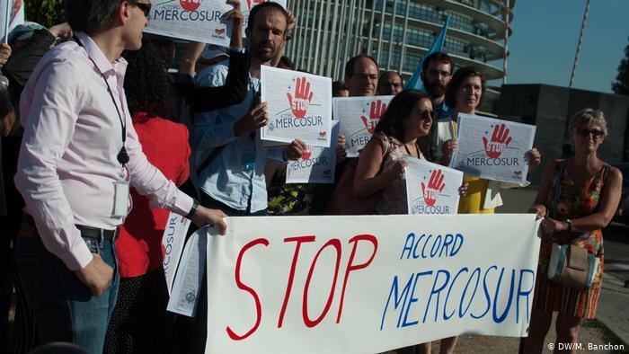 Nein zu Mercosur: Österreicher machen Ernst