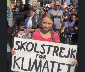 """Greta Thunberg: """"Il cambiamento sta arrivando, che vi piaccia o no"""""""