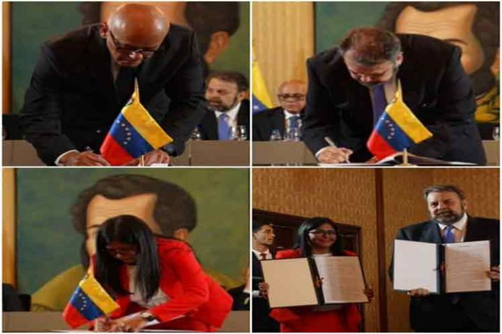 Venezuelan Government and Opposition sign Peace Dialogue Agreement