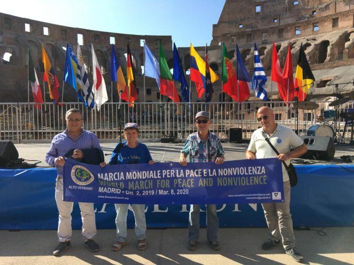 Deuxième Marche Mondiale pour la Paix et la Nonviolence : les évènements actuels