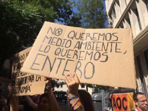 España: el Congreso aprueba la declaración de estado de emergencia climática