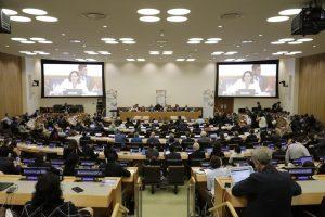 L'alcaldessa de Barcelona participa en la cimera climàtica de l'ONU