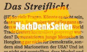 Die Süddeutsche polemisiert gegen die NachDenkSeiten und ihren Herausgeber