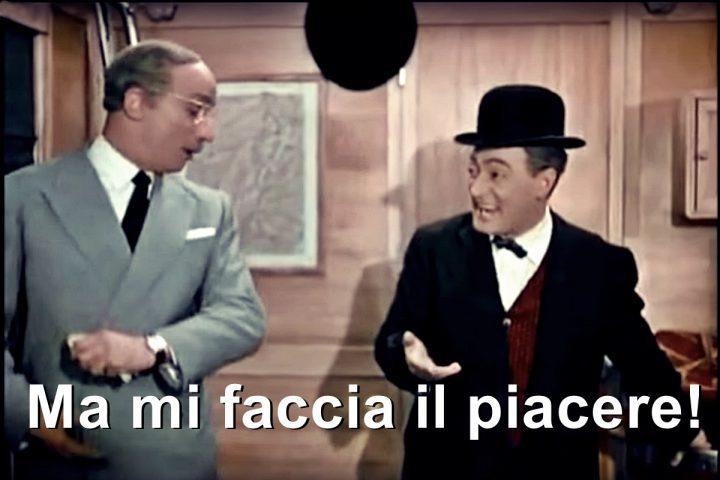 Salvini, Totò e l'onorevole Trombetta