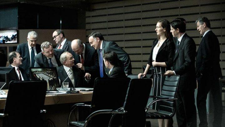 """Venezia 2019. """"Adults in the Room"""",  emozionante Costa-Gavras  sul dramma della crisi  greca e le trattative con l'Eurogruppo."""