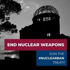 """Giornata ONU per l'abolizione delle armi nucleari Senzatomica e Rete Disarmo scrivono ai parlamentari: """"Italia, ripensaci"""""""