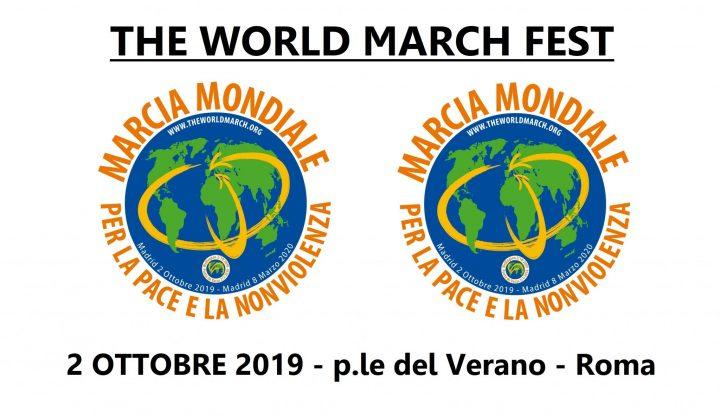 2 ottobre, parte la Seconda Marcia Mondiale per la Pace e la Nonviolenza. Le iniziative a Roma