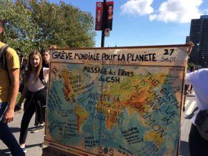 La plus grande manifestation de l'histoire du Québec, pour le climat