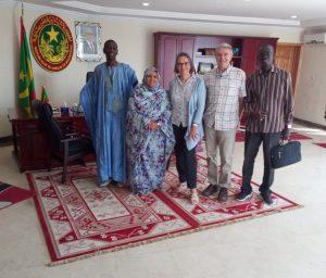 Marche mondiale : Rencontre avec Fatimetou Mint Abdel Malick, Présidente de la Région de Nouakchott, Mauritanie