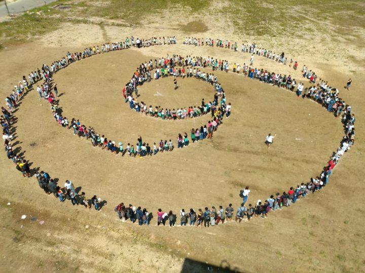 Símbolos Humanos por la paz y la no violencia en Brasil