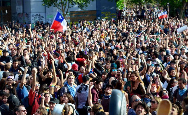 Έκκληση αλληλεγγύης προς το χιλιανό λαό