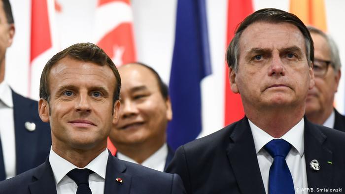 França diz que não assina tratado com Mercosul na atual condição ambiental