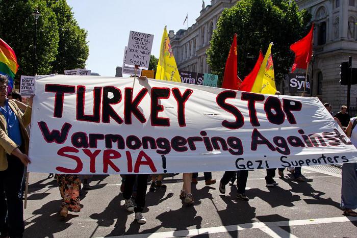 Stopp der türkischen Aggression in Syrien!