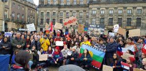 Manifestations de soutien au Chili à travers le monde