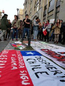 De nouvelles manifestations de soutien et de solidarité avec le Chili dans le monde entier