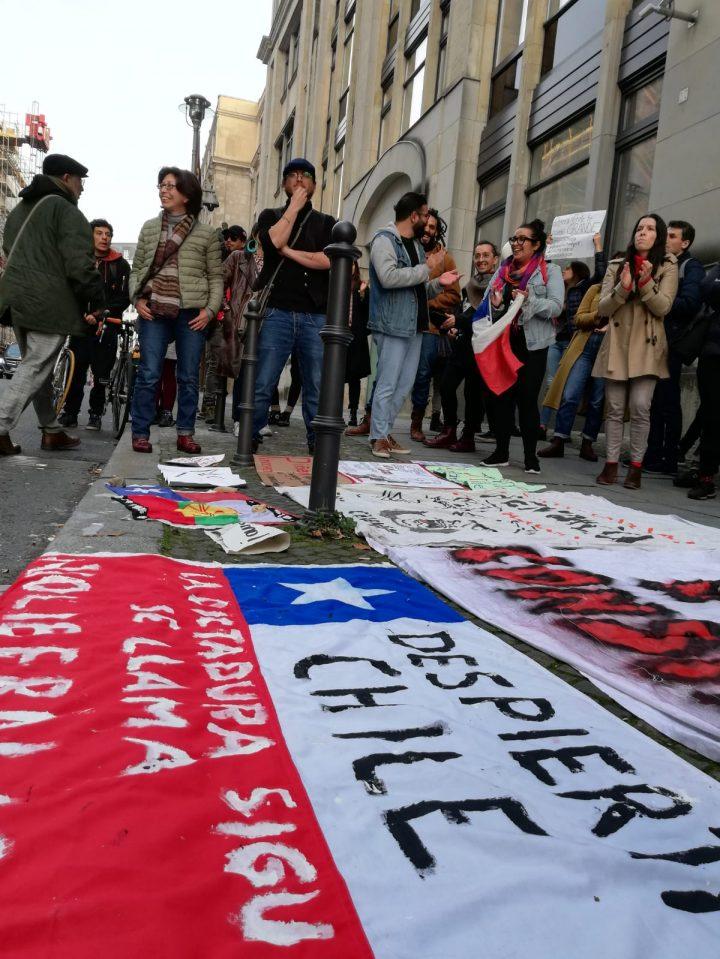 Weitere Demonstrationen zur Unterstützung und Solidarität mit Chile auf der ganzen Welt