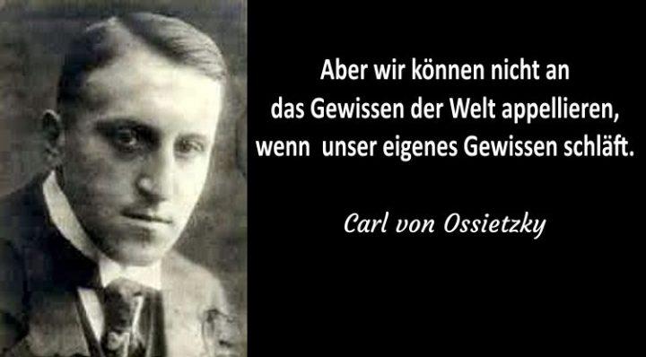 Carl von Ossietzky und das Klimapaket der GroKo