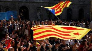 General Strike in Catalonia as Barcelona is Burning