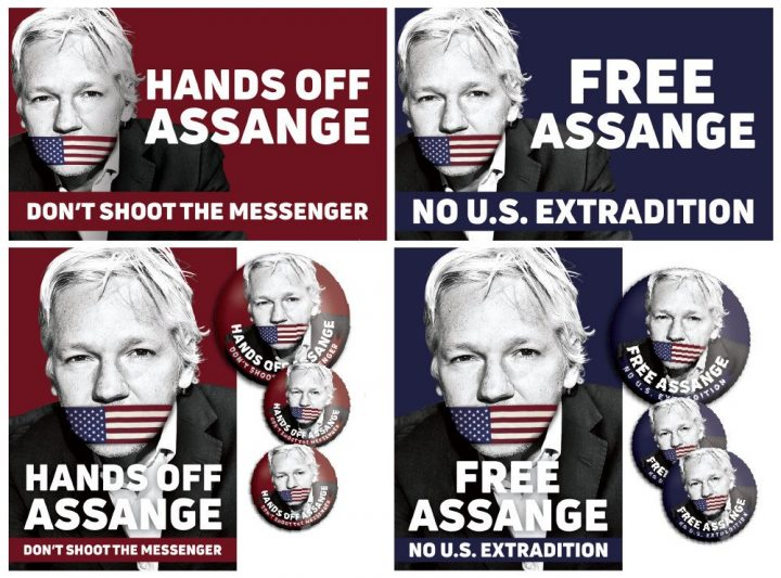 Carta de NoWar2019 para Julian Assange