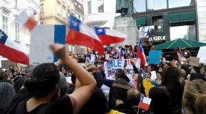 Wien: #ChileDesperto – Solidaritätsdemo mit der Protestbewegung in Chile