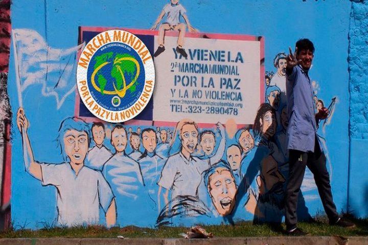 Des fresques pour la paix en Colombie