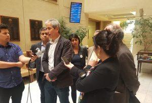 Mario Aguilar: «Nunca más una negociación a espaldas de la ciudadanía»