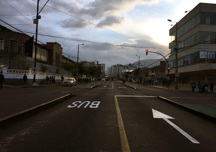 Alzamiento indígena en Quito
