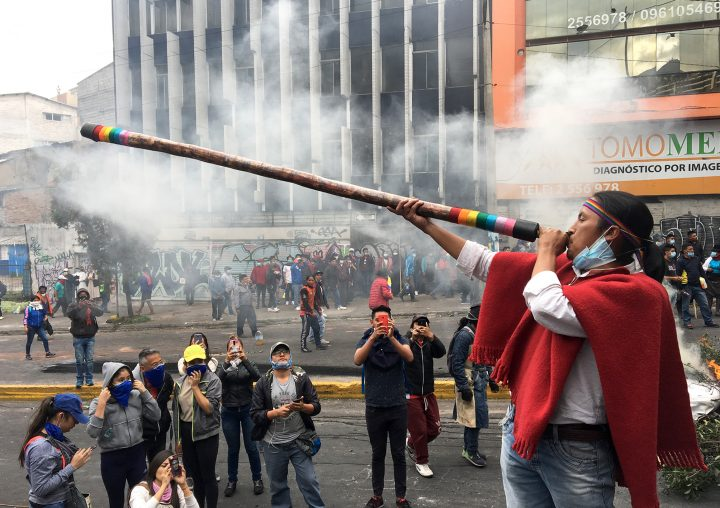 Ecuador: Resistance goes on
