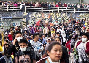 Ecuador: breve nota en el noveno día de movilizaciones contra medidas económicas