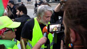 Pensionistas españoles marchan cientos de kms. por sus pensiones