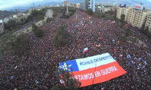 Die Proteste der Bürger beenden die Ausgangssperre in Chile