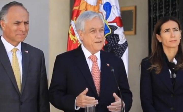 Piñera conferma che il Cile non accoglierà i vertici APEC e COP25