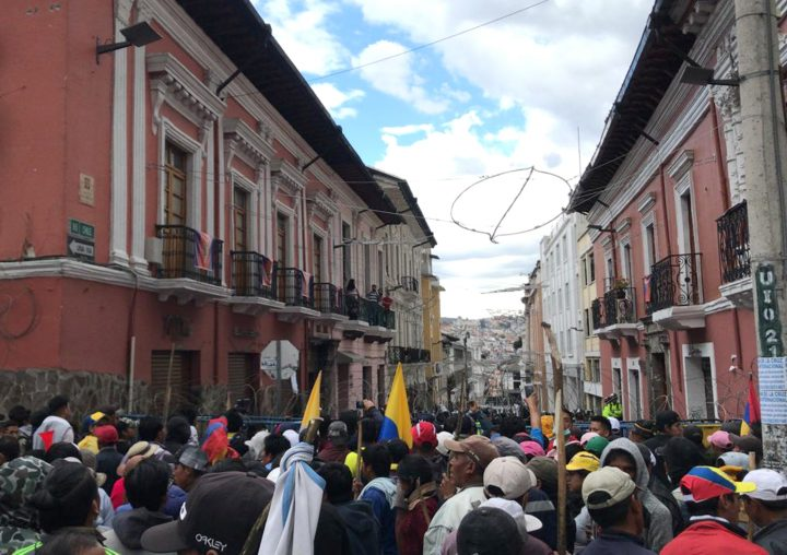 Indigenous-Led Anti-Austerity Protests Shut Down Quito Forcing Ecuadorian Government to Move Capital